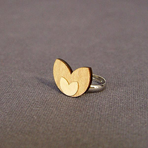 ILLANGO FASHION, TULIP RING