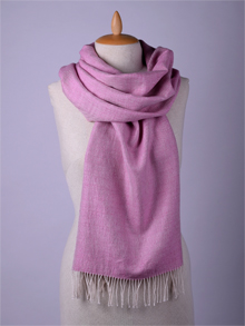 ILLANGO FASHION, HANDWOVEN SCARVES, silk scarf with silver threads
