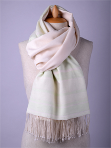 ILLANGO FASHION, HANDWOVEN SCARVES, cotton scarf with pattern