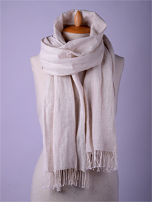 ILLANGO FASHION, HANDWOVEN SCARVES, linen scarf